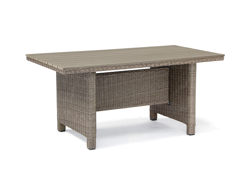Kettler Palma Slat Top Table in Rattan