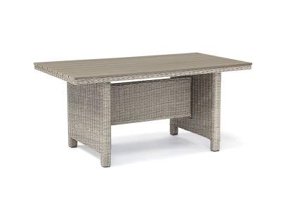 Kettler Palma Slat Top Table in Whitewash