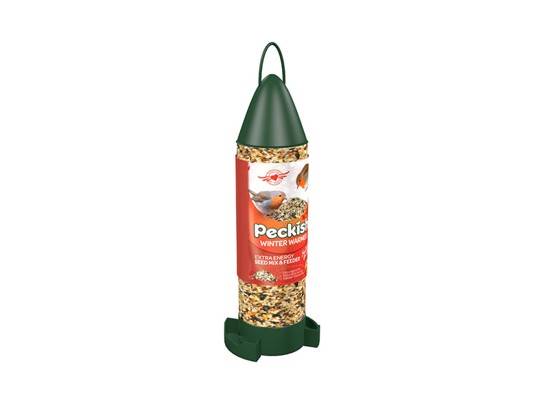 Peckish Winter Warmer Feeder