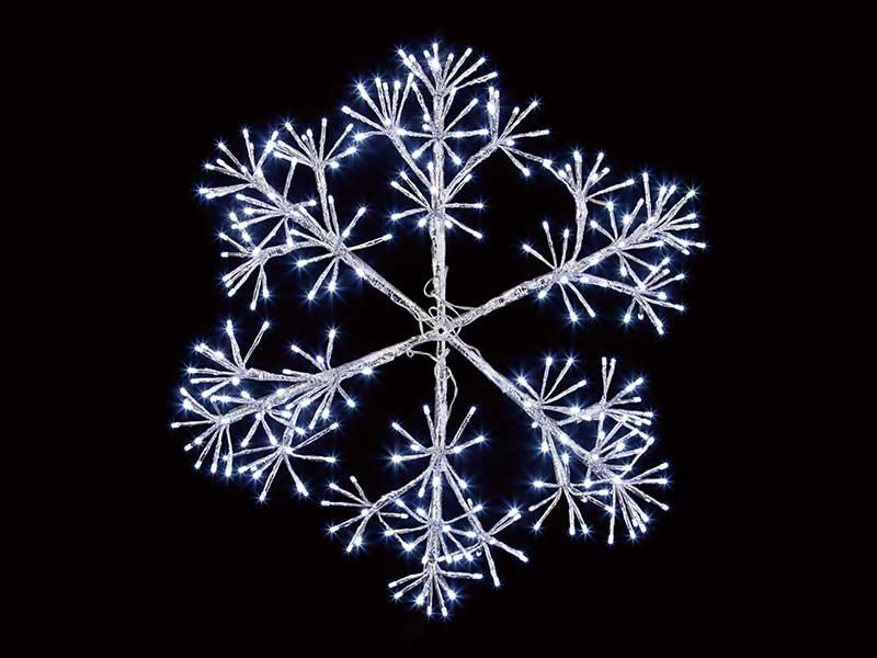 Premier 60cm Silver Starburst Snowflake