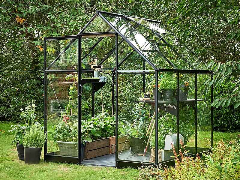 Halls Qube Greenhouse 6x10