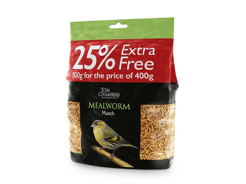 Tom Chambers Mealworm Munch