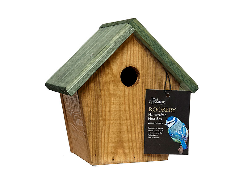 Tom Chambers Rookery Handcrafted Nest Box