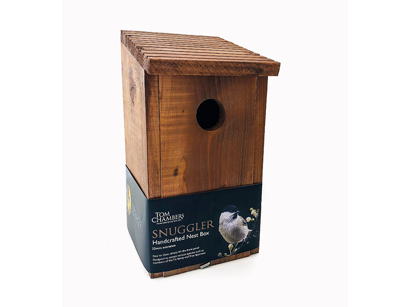 Tom Chambers Snuggler Handcrafted Nest Box