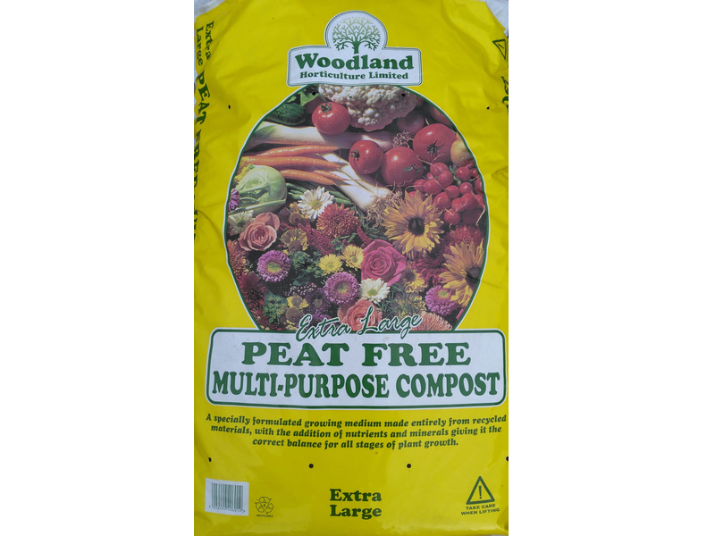 Woodland Peat Free Multi-Purpose Compost