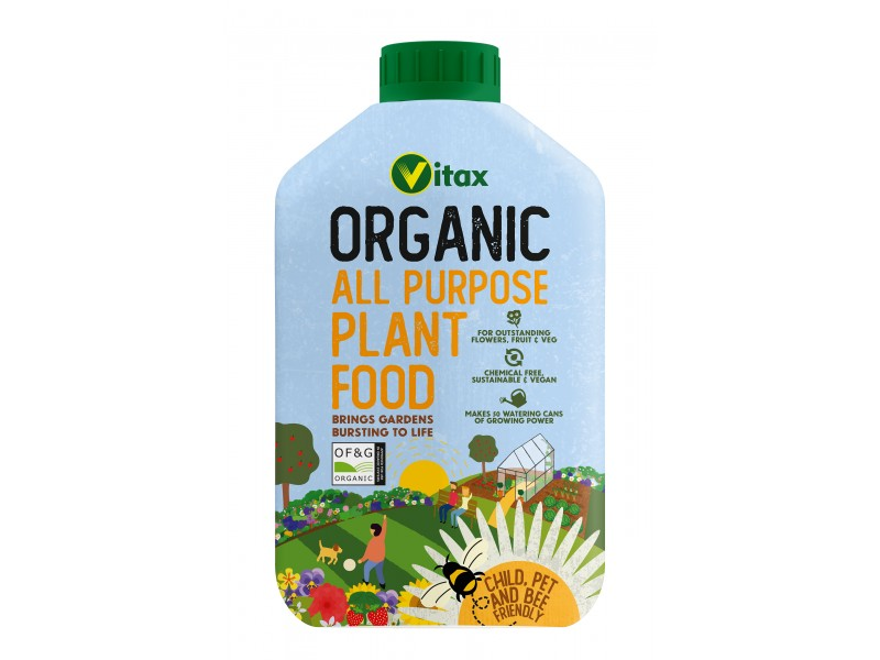 Vitax Organic All Purpose Liquid Plant Food
