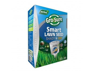 Gro-Sure Smart Lawn Seed Shady & Dry Areas