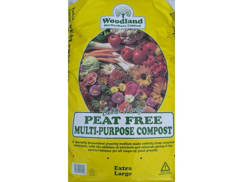 Woodland Peat Free Multi Purpose Compost