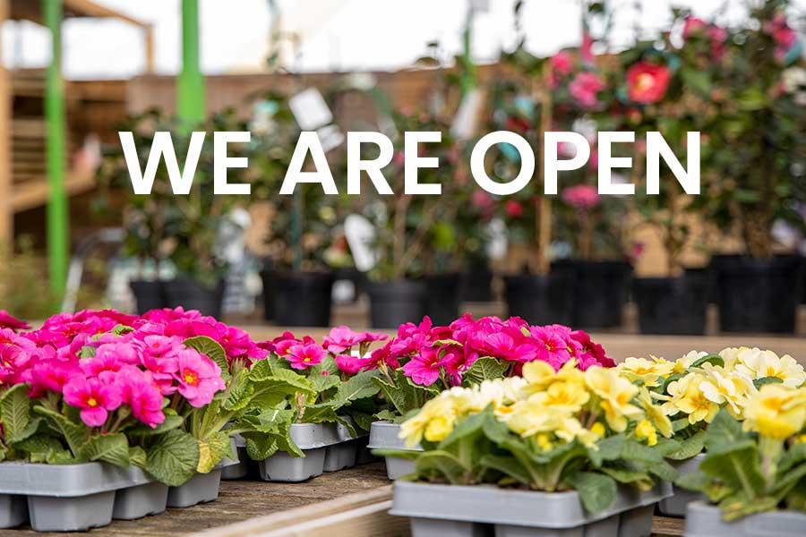 Oxford Garden Centre is open