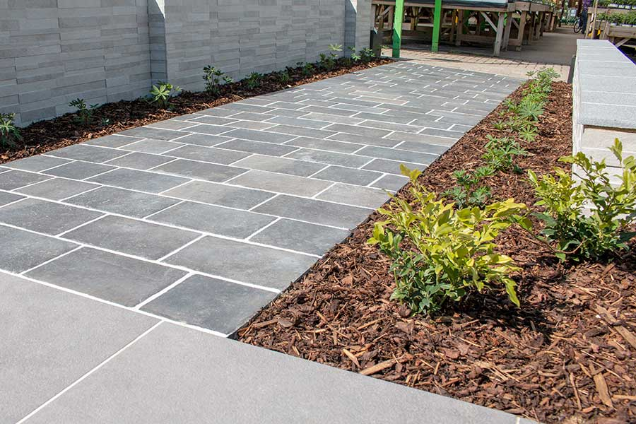 Perfect paving for a pristine patio