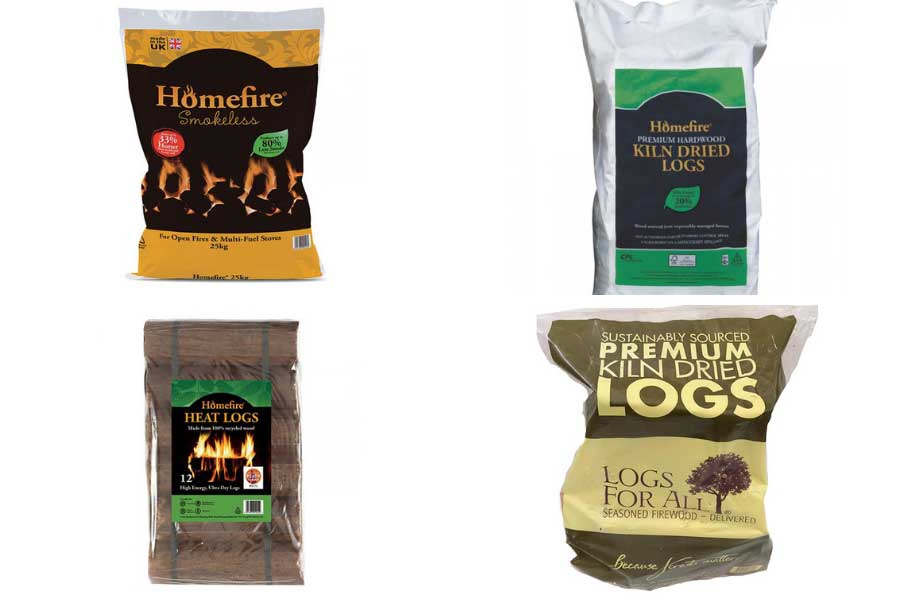 A selection of quality winter fuels for indoor and outdoors